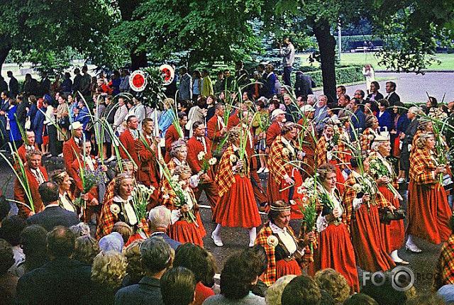20-21 июля 1973 года. Рига. 100-летие Праздника песни
