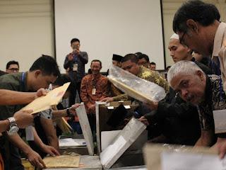 Rekapitulasi akhir Pilbup Bandung Barat 2018