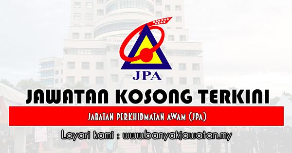 Jawatan Kosong 2019 di Jabatan Perkhidmatan Awam (JPA)