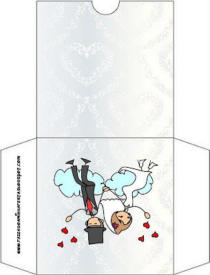 Imprimibles gratis para bodas de novios con globos y corazones ...