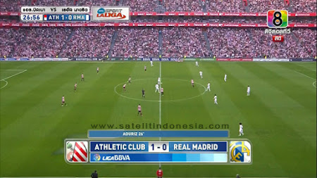 siaran langsung pertandingan Real Madrid vs Athletic Bilbao Hari Ini