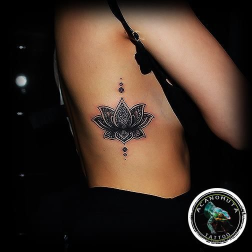 Lotus Flower Tattoo For Women