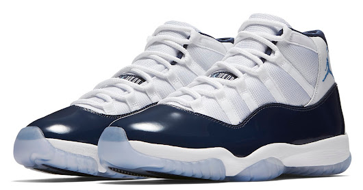 "Air Jordan 11 Retro ""Win Like 82"" White/University Blue-Midnight Navy Release Reminder"