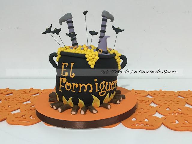 tarta halloween cake