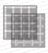 http://www.newtonsnookdesigns.com/plaid-stencil-set/