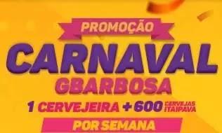 Promoção de Carnaval GBarbosa - Cadastro