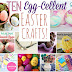 EGG-squisite Easter Flowers - Easter Egg Crafts for Babies