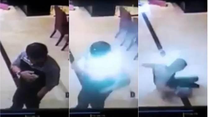 Video: Bateria de celular Samsung explode em bolso de homem