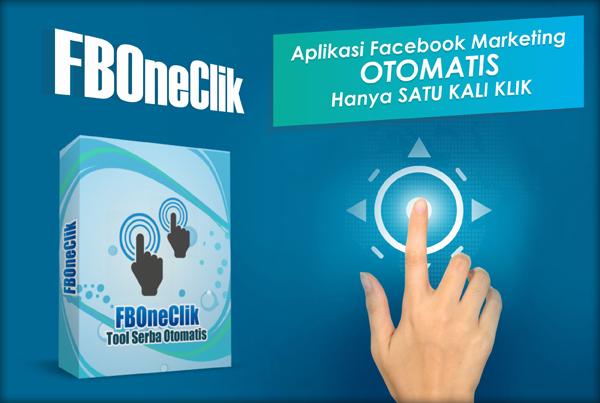 Fb One Click - Aplikasi Facebook Marketing Otomatis