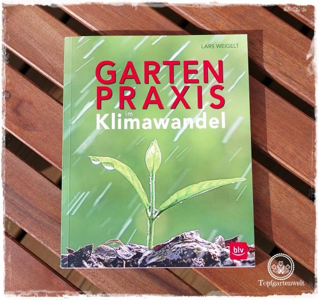 Gartenblog Topfgartenwelt Buchtipp Buchvorstellung Buchrezension: Gartenpraxis im Klimawandel von Lars Weigelt, erschienen im BLV-Verlag