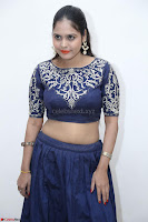 Ruchi Pandey in Blue Embrodiery Choli ghagra at Idem Deyyam music launch ~ Celebrities Exclusive Galleries 011.JPG