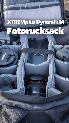 Gear of the Week #GOTW KW 14 | XTREMplus Dynamik M - Fotorucksack |