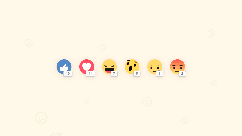 Reacciones de facebook para Blogger