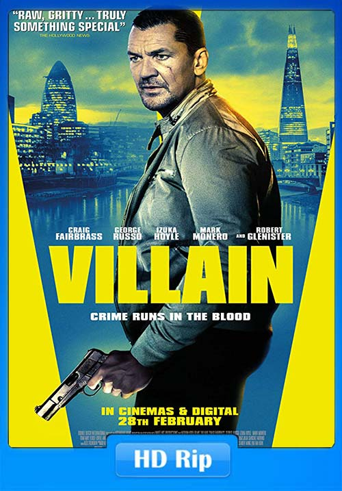 Villain 2020 720p WEBRip x264 | 480p 300MB | 100MB HEVC