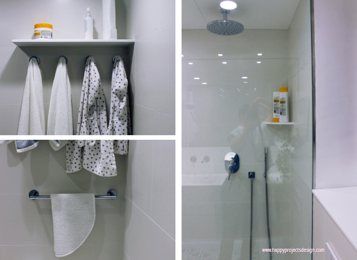 antes y después de mi baño