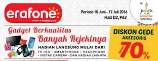 Promo Samsung Erafone di Jakarta Fair 10 Juni - 17 Juli 2016