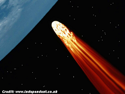 Huge, Mysterious Space Object On Collision Course with Earth