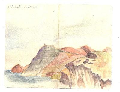 Libreta del caminante: paisaje y poesía de Francisco Basallote, Ancile