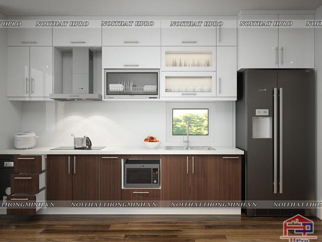 Mẫu thiết kế tủ bếp nhựa laminate-2