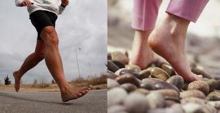 Berjalan Tanpa Alas Kaki Tumit Jadi Pecah dan Kasar