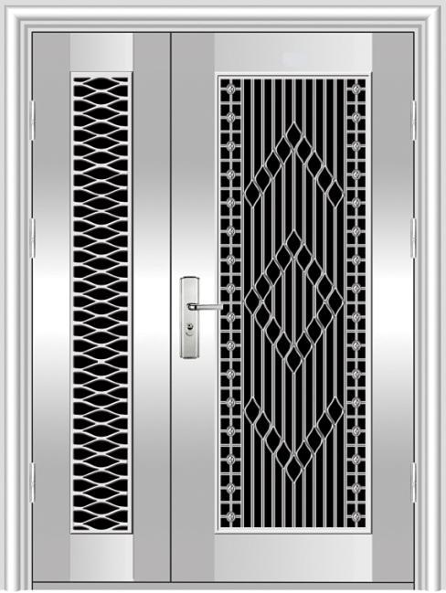 Foundation dezin decor steel doors for Balcony grills enclosure designs in india
