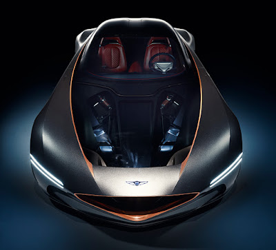 The Genesis Essentia Concept Car Shows Its Pulsing Electric Power Within
