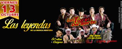 Concierto de Los Tigres del Norte en Bogota 2017