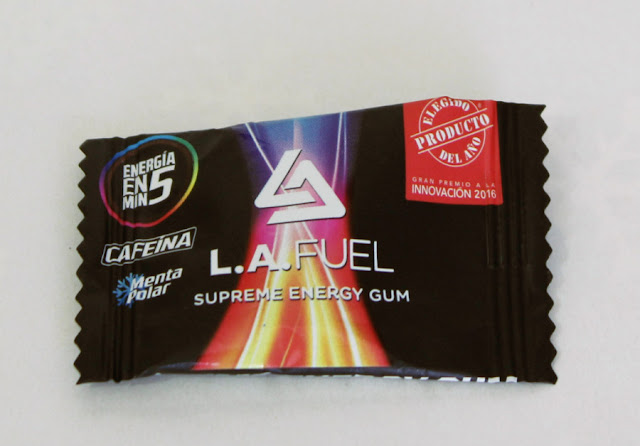 Chicle energizante L.A FUEL