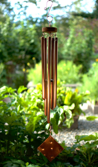 Perfect gift for your 7th wedding anniversary: Coast Chimes copper wind chime