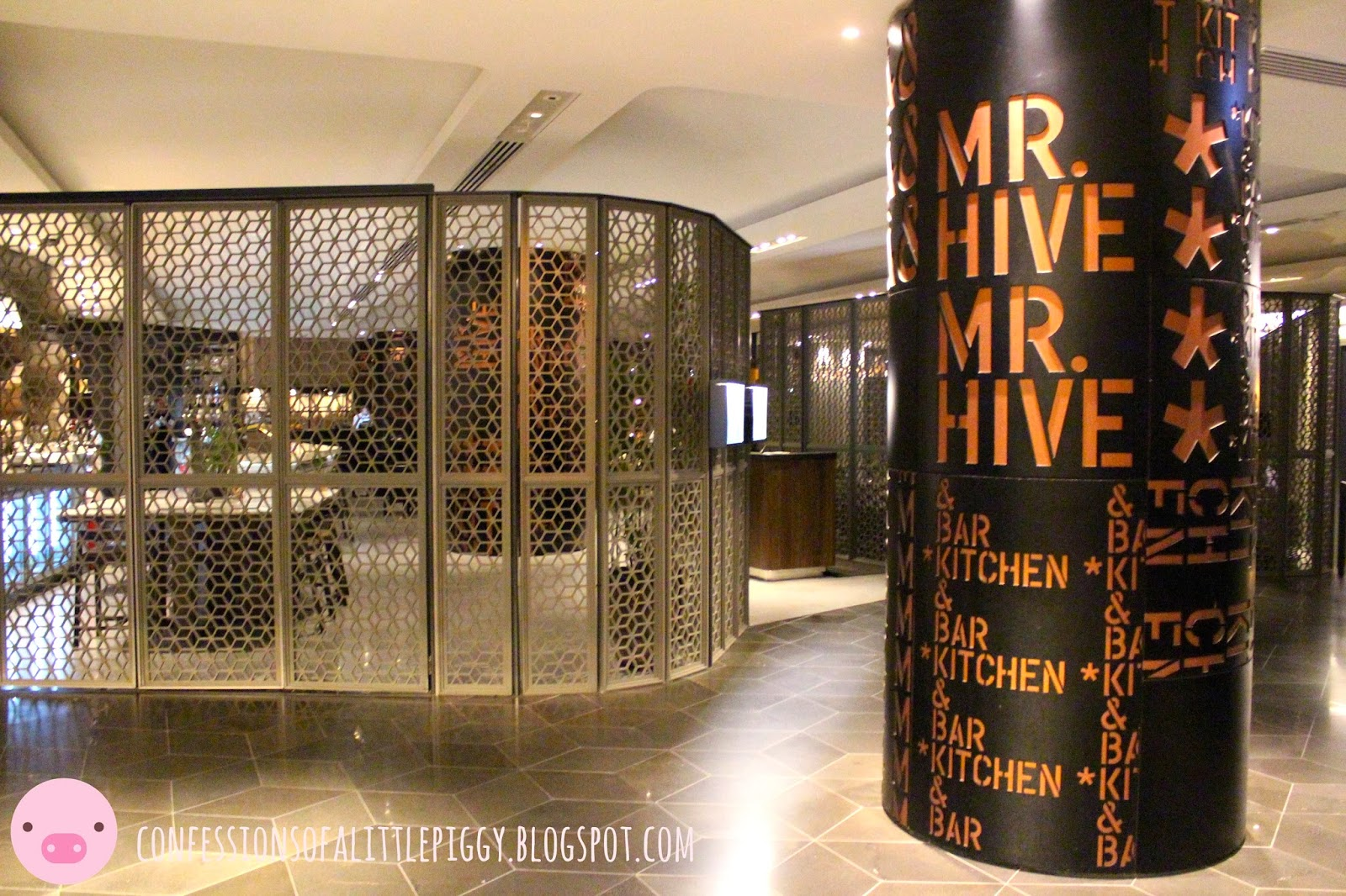 Mr Hive Kitchen & Bar Menu