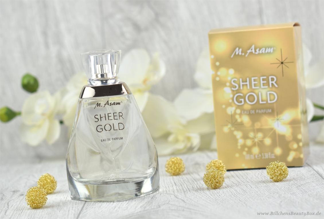 M. Asam - Sheer Gold Eau de Parfum - Review und Duftbeschreibung