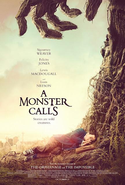 Baixar a monster calls movie poster amc Sete Minutos Depois da Meia Noite Dual Audio Download