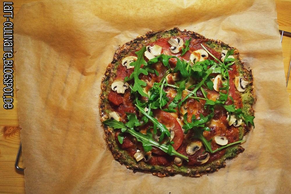 low carb pizza aus brokkoli lieblingsk che. Black Bedroom Furniture Sets. Home Design Ideas
