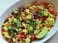 Black Bean & Corn Salad wìth Chìpotle-Honey Vìnaìgrette