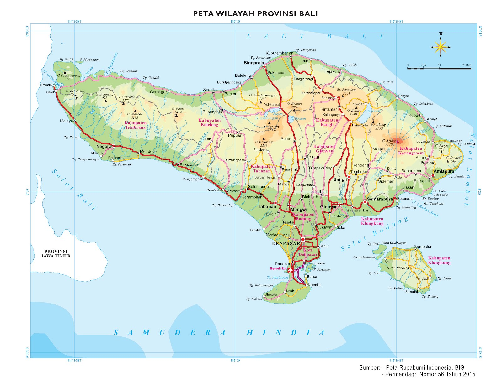 Peta Provinsi Seluruh Indonesia Edisi Terbaru Info Geospasial