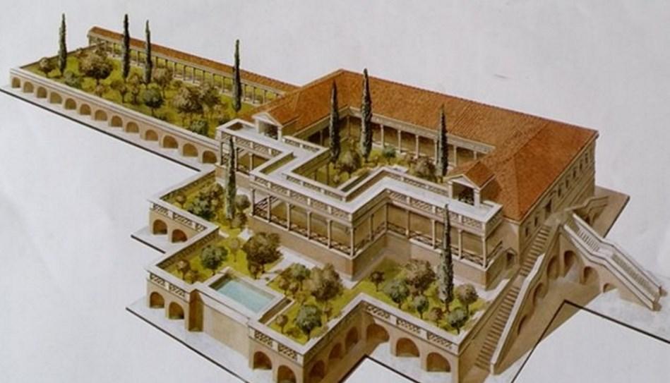 Arqueolugares villa de la grotte portoferraio isla de for Villas romanas