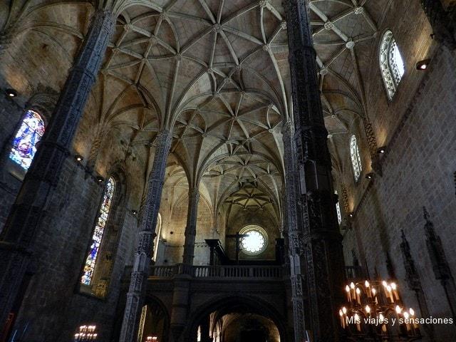 Iglesia-Monasterio de los Jerónimos, barrio de Belém, Lisboa