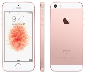 This is a picture of a rose gold iPhone