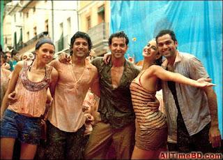 Zindagi Na Milegi Dobara (2011) Bollywood hindi Movie mp3 Song Free Download | ZNMD Hrithik Roshan's and Katrina Kaif hindi movie song Download