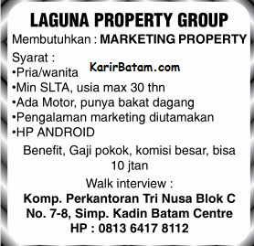 Lowongan Kerja Marketing Tri Nusa