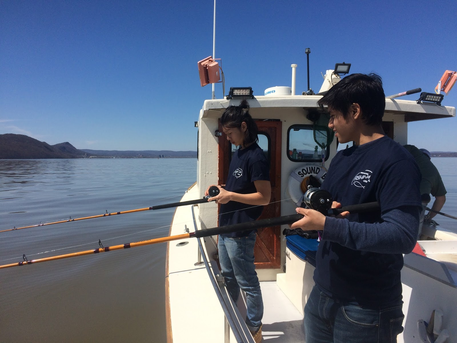 Nyack college fishing club blog fishing stories our for Sound bound fishing