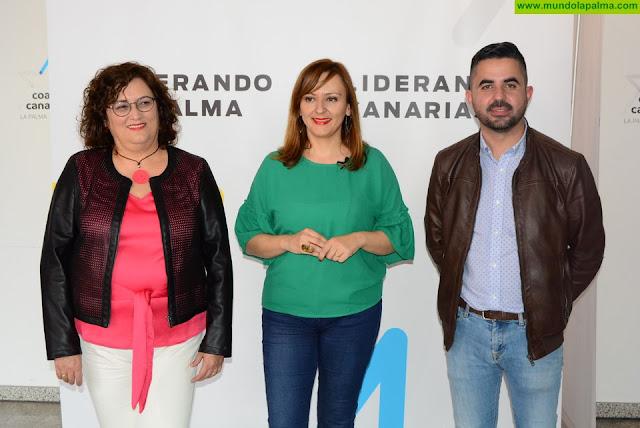 "Lady Barreto:""Guadalupe González y Onán Cruz votarán siempre a favor de La Palma, gobierne quien gobierne"""