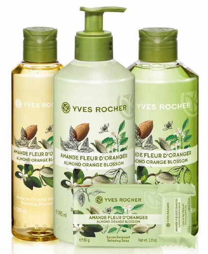 yves rocher almond orange blossom