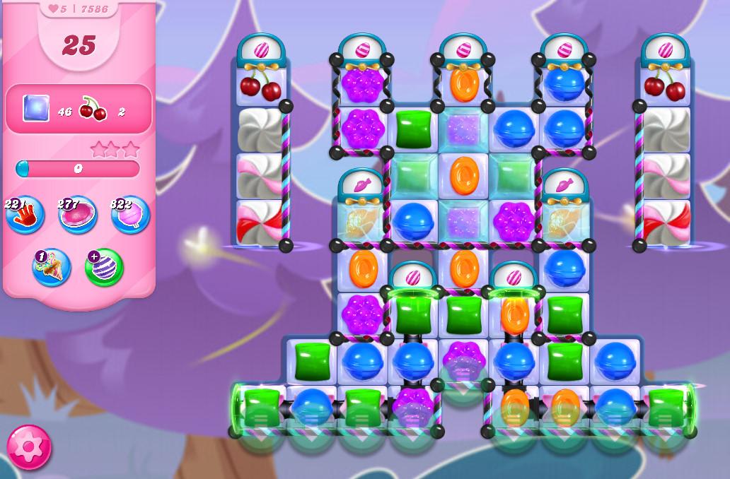 Candy Crush Saga level 7586