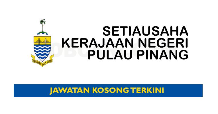 Jawatan Kosong di Pentadbiran Setiausaha Kerajaan Negeri Pulau Pinang