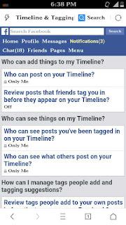 apni facebook timeline me kisi or ko post or tag karne se kese roke 5