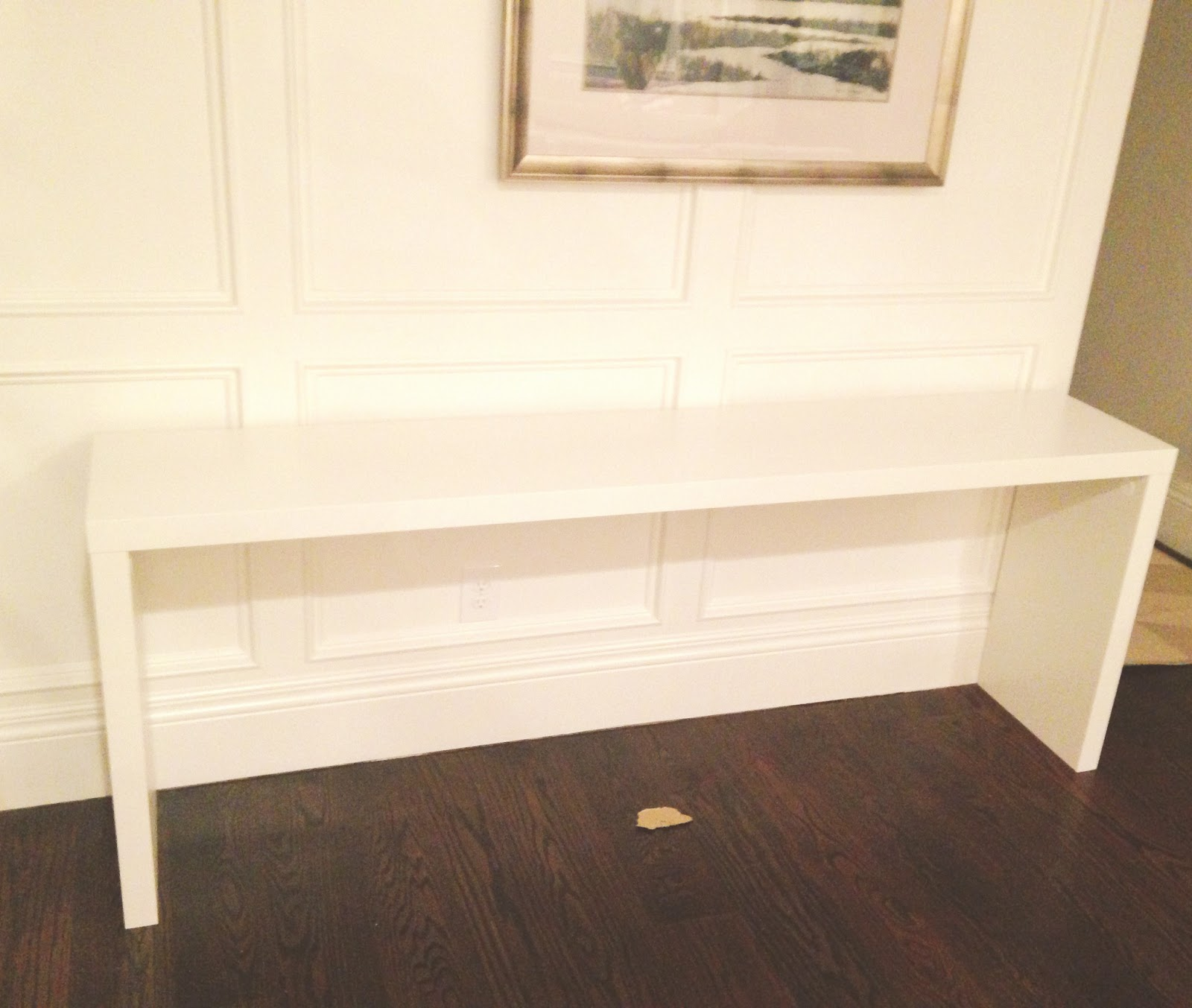 Lack Sofa Table As Desk Good Quality Beds Canada Ikea Console Over Bed  Nazarm