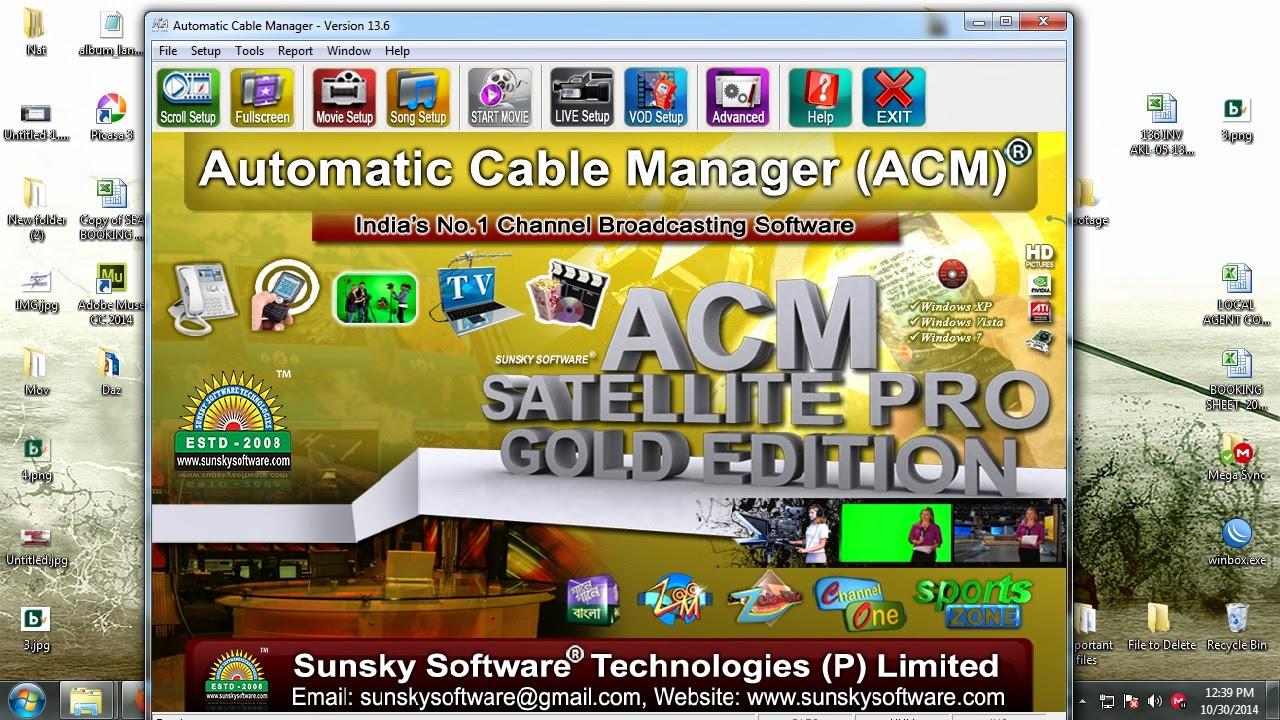Acm Satellite Pro Download Acm Satellite Pro Gold Edition