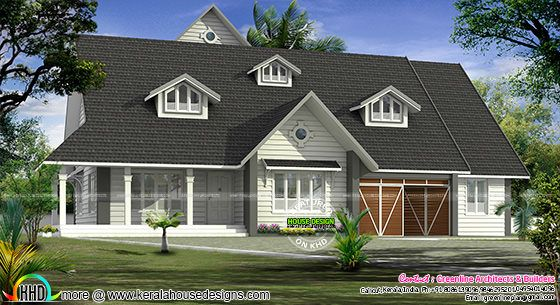 European model bungalow architecture