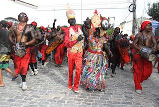 Festa de Lambe-sujos e Caboclinhos acontece neste domingo em Laranjeiras
